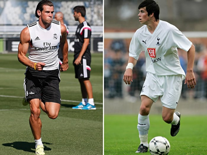 Image result for transformation muscles gareth bale