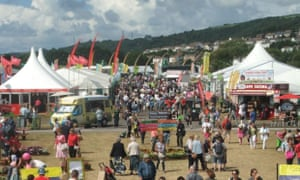 A picture of the Eisteddfod in Llanelli, 2014.