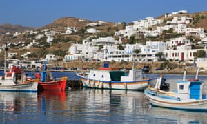 Mykonos Island, Cyclades, Greece