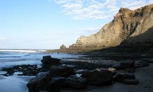 The cliffs near Port Mulgrave