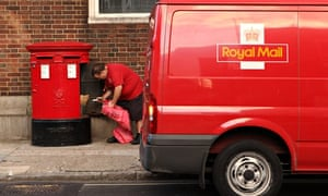 Between 45,000 and 50,000 post boxes will move to an earlier collection time