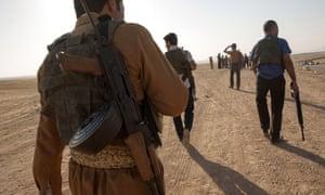 Peshmerga fights isis