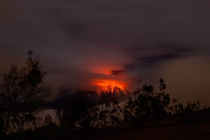 20 Photographs: Activity continued to increase at the Tungurahua volcano in Ecuador