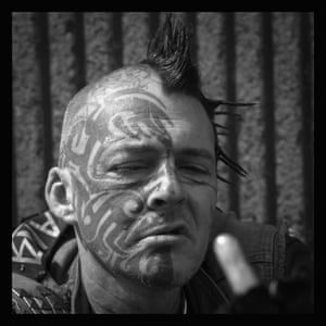 A punk at Rebellion festival
