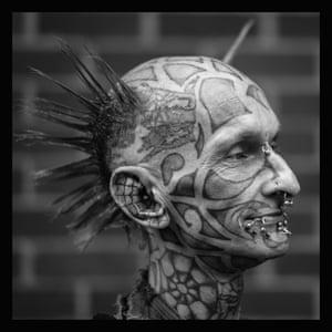 A tattooed punk