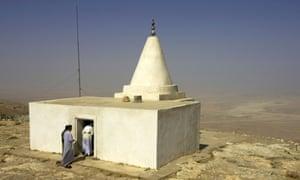 yazidi shrine