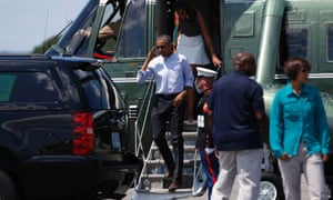 barack obama marine one
