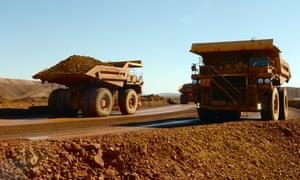 Rio Tinto iron ore mine