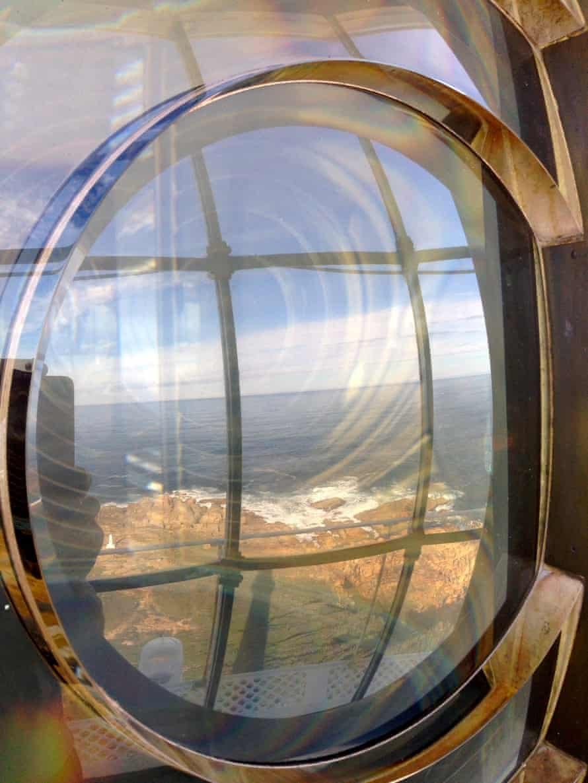 Through the lens: Points Hicks lighthouse.