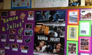 Shakespeare display corner