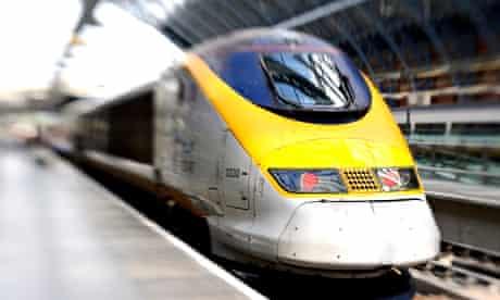 Eurostar …next stop France.