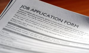 Job application form. Image shot 04/2009. Exact date unknown.