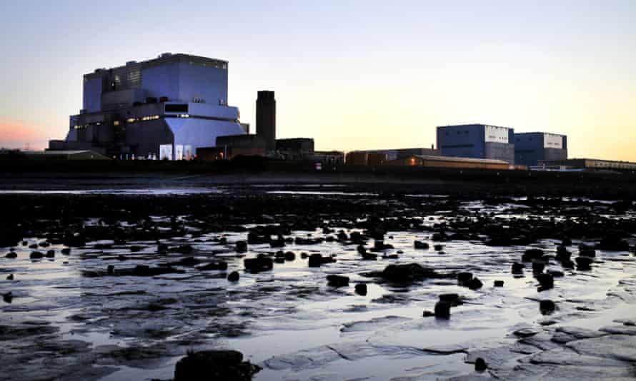 Hinkley Point B nuclear power station.