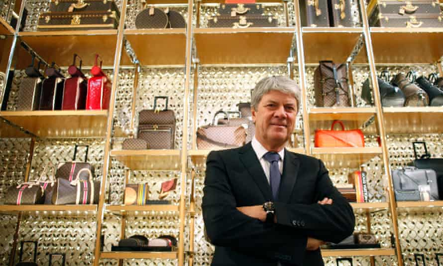 Yves Carcelle, chief executive officer of Louis Vuitton, at a Louis Vuitton store in Rome, Italy, in 2012