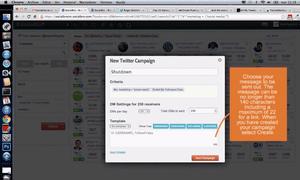 SocialBro's interface