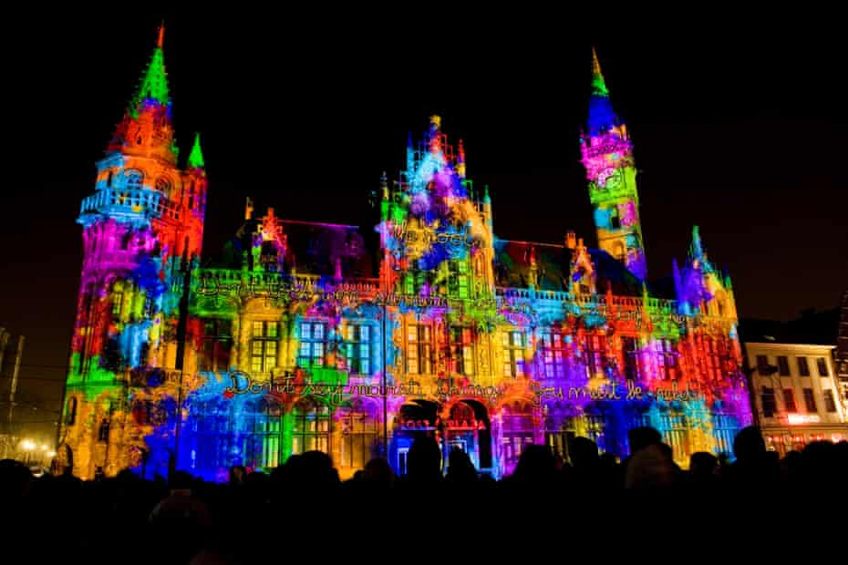 Ghent light festival
