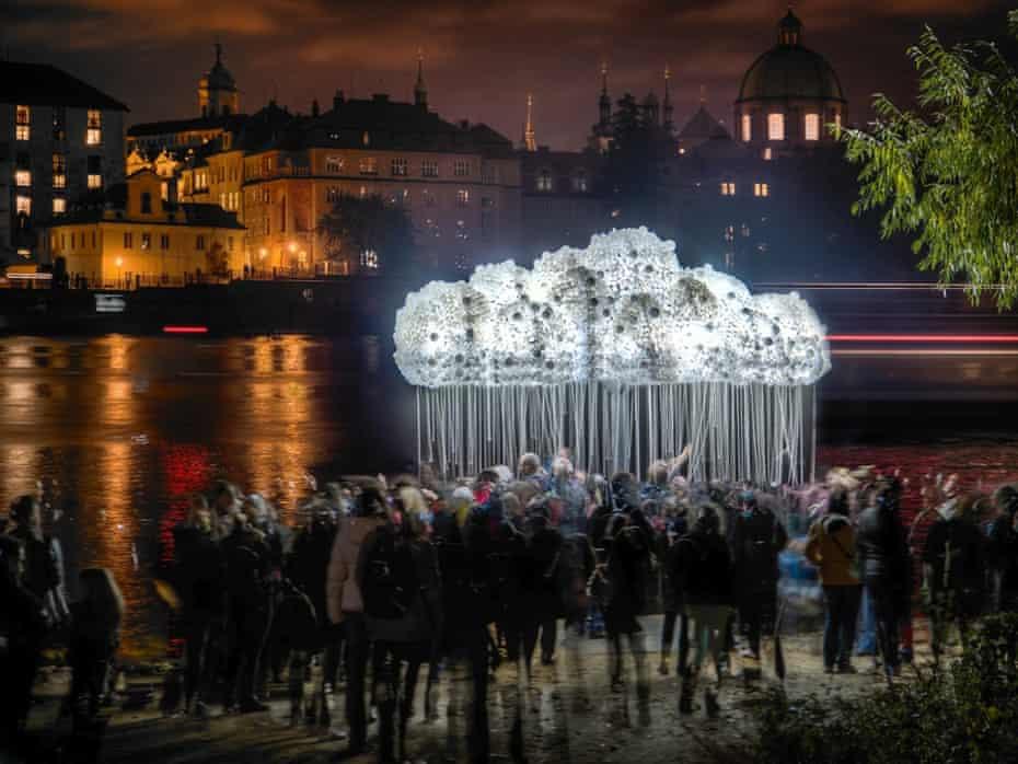 Prague lights festival