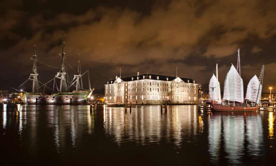 Amsterdam lights show