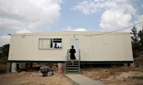 The Gush Etzion settlement, near Bethlehem, in the West Bank