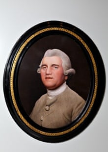 George Stubbs's portrait on ceramic of Josiah Wedgwood