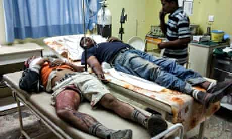 Shot migrant workers in hospital