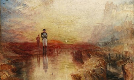 JMW Turner's War. The Exile and the Rock Limpet