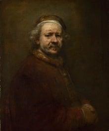 Rembrandt''s Self Portrait (1669)