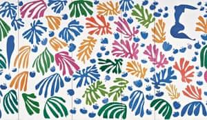Henri Matisse's The Parakeet and the Mermaid (1952)