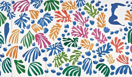 Henri Matisse's The Parakeet and the Mermaid (1952)