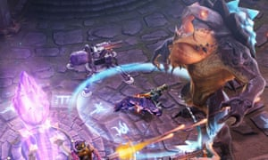 Vainglory for iOS.