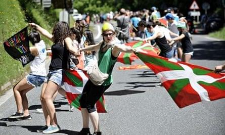 Spain demonstration