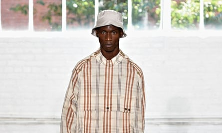 Duckie Brown at New York fashion week