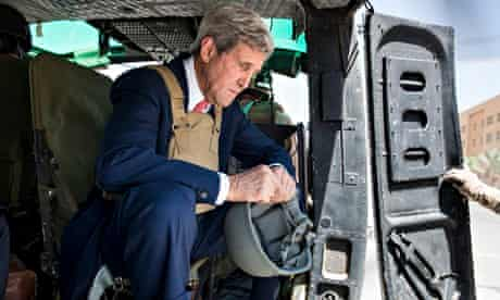 John Kerry in Baghdad