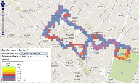 Map some noise: how your smartphone can help tackle city sound pollution