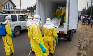 Ebola in Liberia burial team
