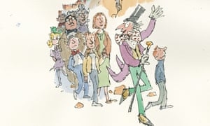 Quentin Blake lost characters