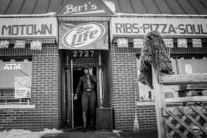 Day #135 Exiting Bert's - a legendary jazz club in Eastern Market