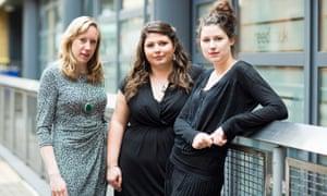Vicky Graham, Nicola Seed, Emily Dobbs