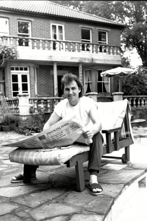 Gerry Francis At Home In Bagshot.