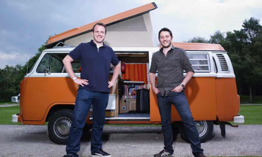 Jon Richardson and his best mate, fellow comedian and optimist Matt.