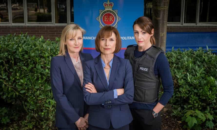 Lesley Sharp, Amelia Bullmore and Suranne Jones.