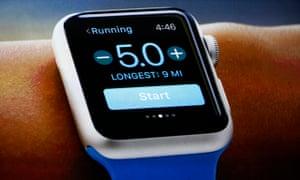 An Apple Watch i