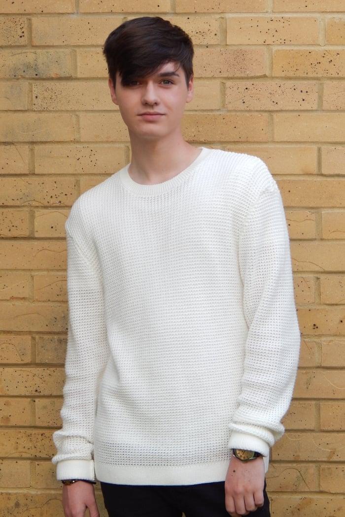 Jack Bradley's waffle-knit jumper