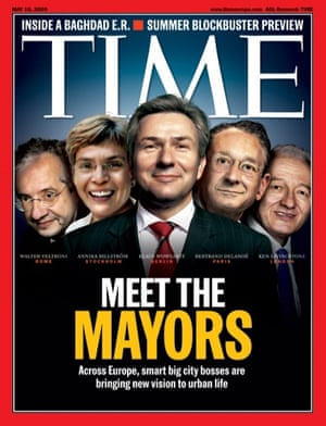 Time magazine mayors cover