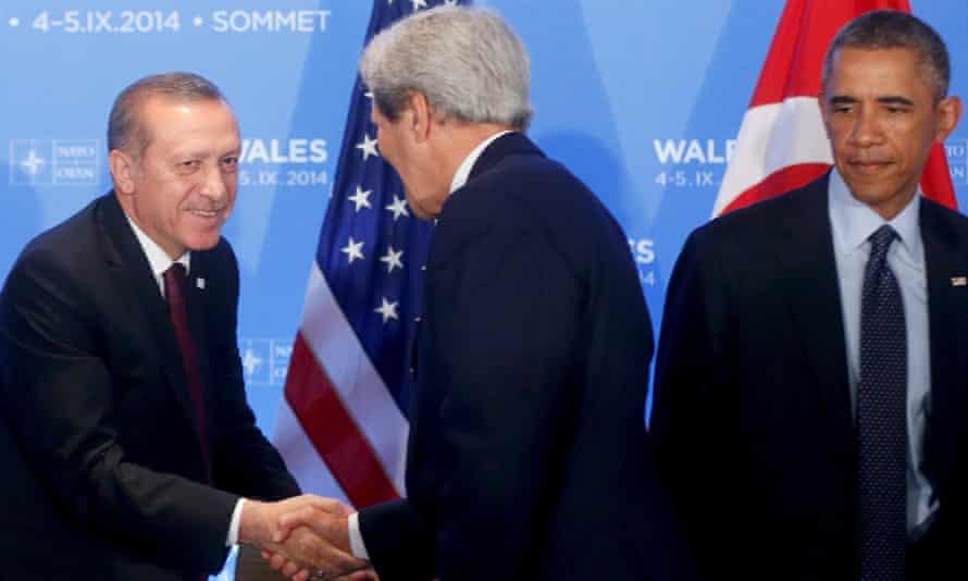 erdogan obama kerry