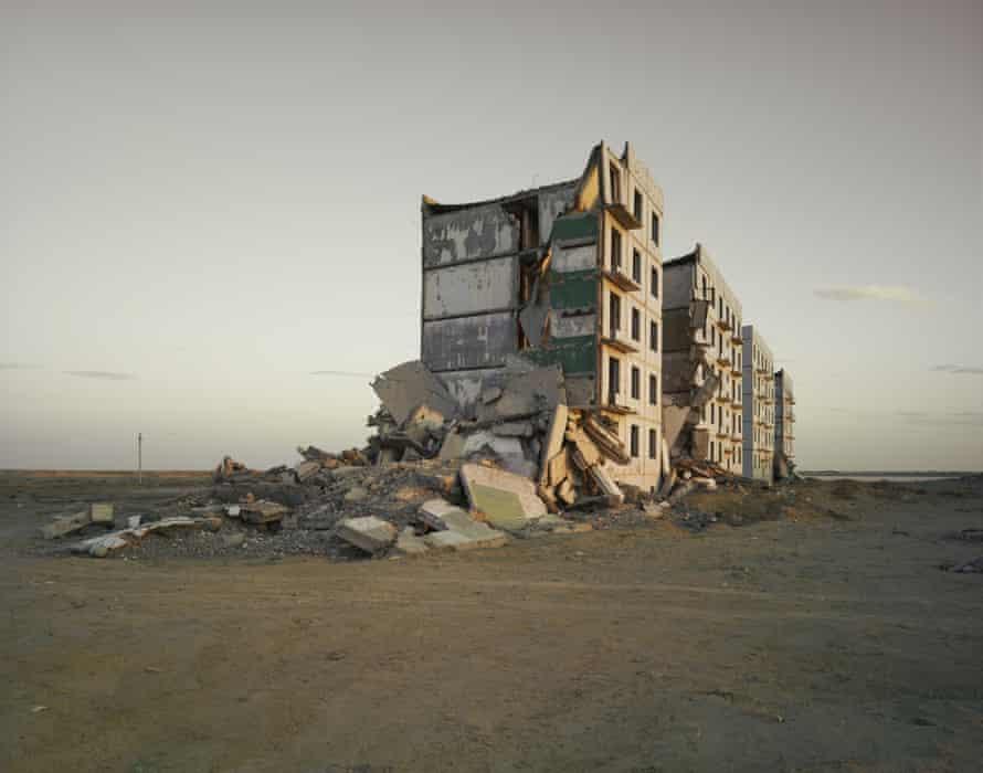 The Aral Sea  (Officers Housing), Kazakhstan 2011.