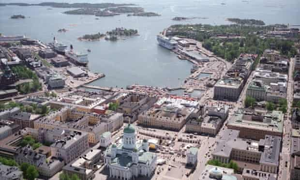 Battleground … Helsinki's South Harbour, where the new Guggenheim Museum is proposed to be built.