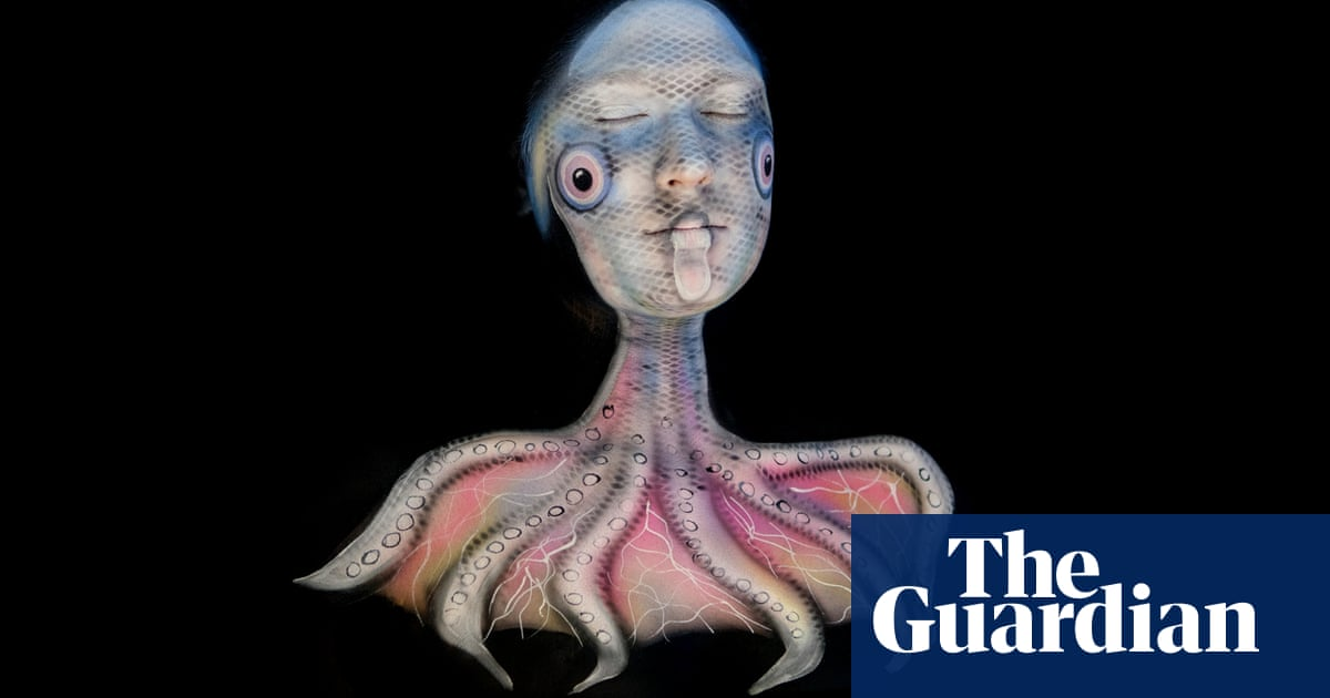 Deep Sea Body Painting In Pictures Art And Design The Guardian