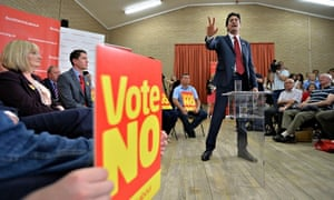 Ed Miliband Party Leaders Campaign To Save The Union