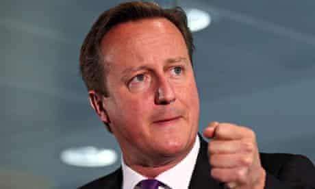 Scottish independence referendum David Cameron